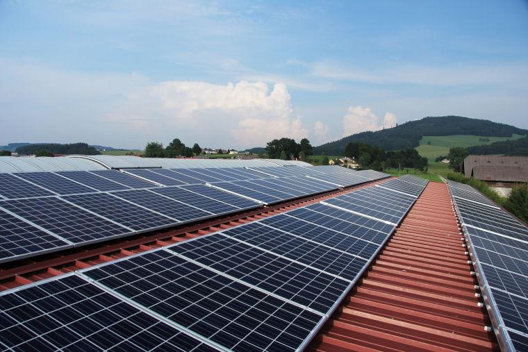 Photovoltaik durch die Firma Kellermann, Aunkirchen